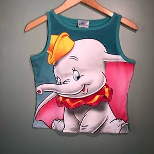 Disney Dumbo Short Top